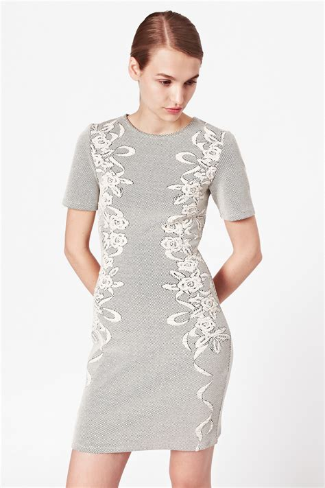 Ayi Dress jocelyn jacquard dress season connection