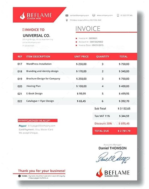 sle invoice harvest beautiful invoice best invoice templates to create your
