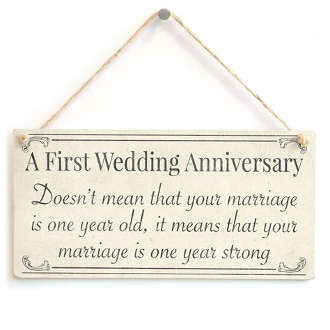1st wedding anniversary gifts uk first wedding anniversary your marriage is one year old