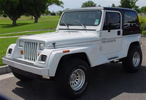 Jeep Renegade 1995 Jeep Yj Wrangler Renegade Pictures Jeeps