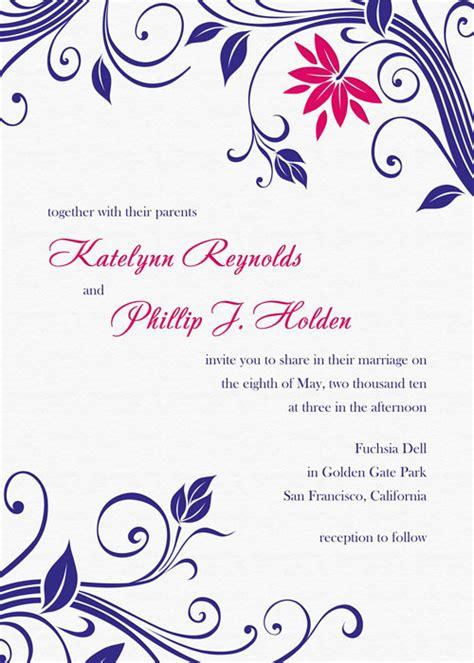 217 best wedding invitation templates free images on pinterest