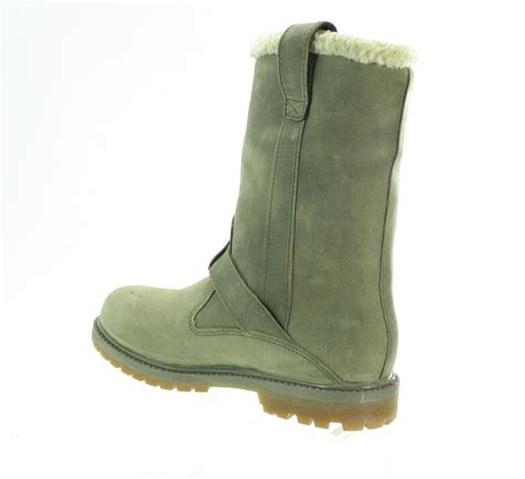 timberland nellie pull on gry gris womens boots treds
