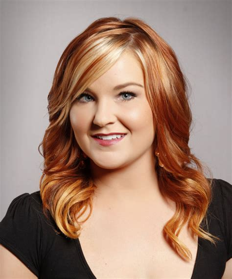 hairstyles with red highlights pictures 29 styles for blonde hair with red highlights for 2013