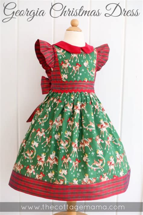 georgia vintage christmas dresses the cottage mama