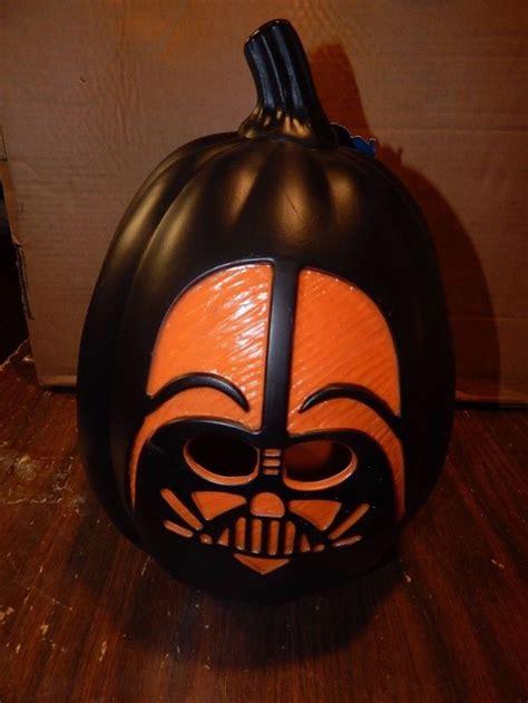 light up jack o lantern star wars darth vader halloween pumpkin jack o lantern