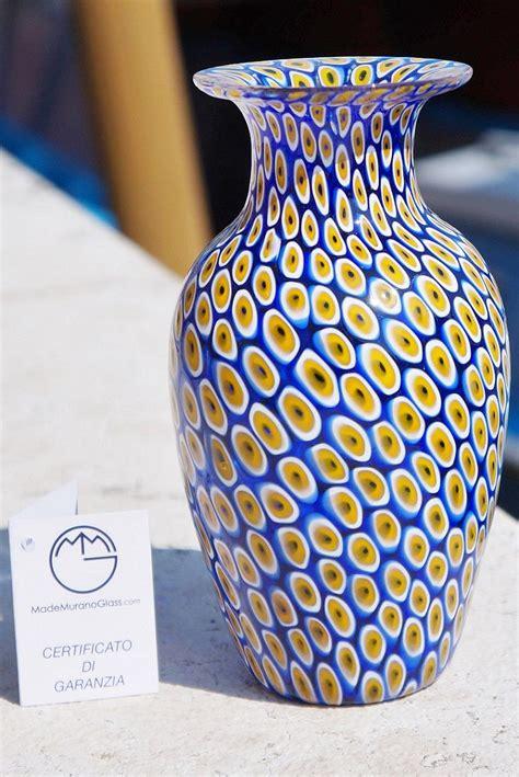 la murrina vasi 14 best vases murrina millefiori vasi in vetro di murano