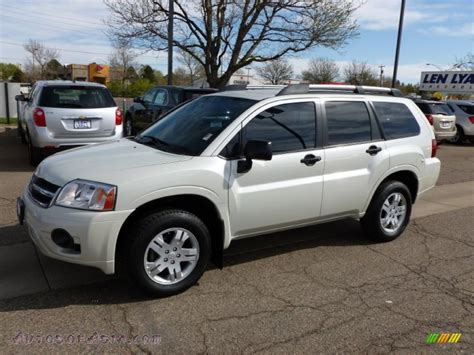 how does cars work 2009 mitsubishi endeavor electronic valve timing 2008 mitsubishi endeavor ls awd in dover white pearl 035110 autos of asia japanese and