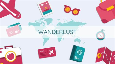 travel themed powerpoint template wanderlust free slides themes and powerpoint