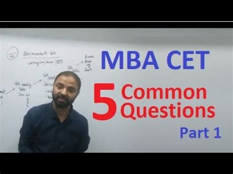 Frequent Mba Questions Asked by Mba Cet 2018 Commonly Asked 5 Questions About Cet
