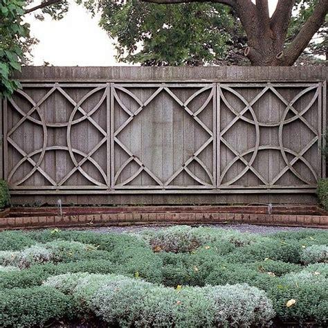 garten verschönern gartengestaltung zaun design