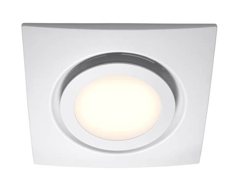 White Exhaust fan with LED Light