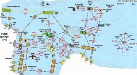 map of springs springs pa underwater map