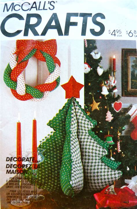 stuffed christmas tree sewing pattern stuffed wreath