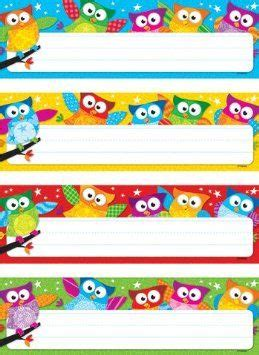 student desk name tags 25 best ideas about owl name tags on owl