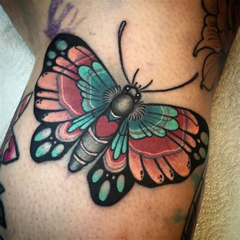 Butterfly Tattoo Neo Traditional | 25 best ideas about traditional butterfly tattoo on