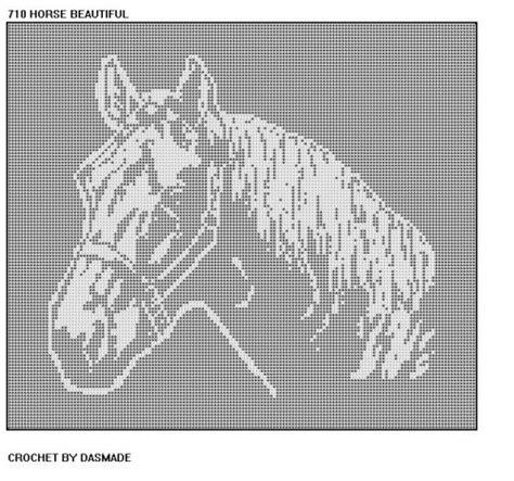 free filet crochet curtain patterns 710 horse bedspread curtain wallhanging filet crochet