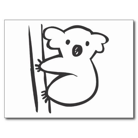 template of koala koala stencil cliparts co
