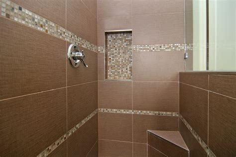 Pictures Of Bathroom Tile Designs by Ideas For Shower Tile Designs Midcityeast