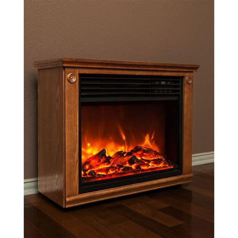 lifesmart electric fireplace lifesmart zone series 29 in infrared electric