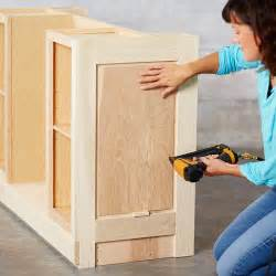build a kitchen island out of stock cabinets related to diy kitchen island cabinet