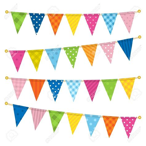 Triangle String - triangle flags on a string clipart clipartsgram