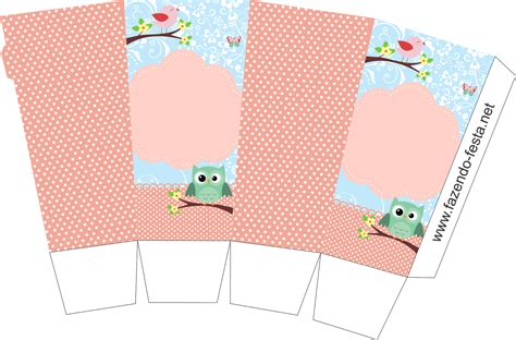 templates for popcorn boxes free bird and owl free printable mini kit oh my fiesta in