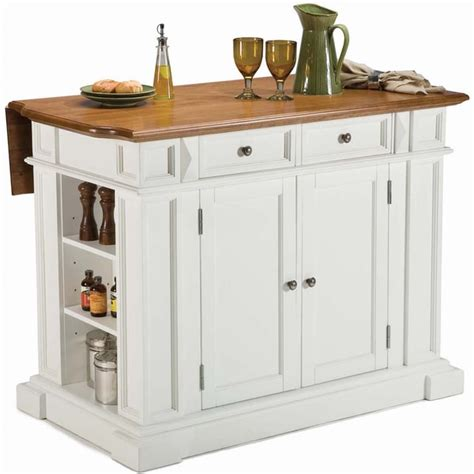 white distressed oak kitchen island by home styles free
