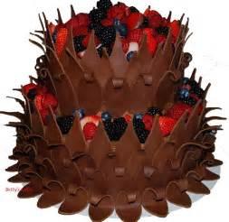 kuchen verzieren schokolade chocolate cake decorating ideas
