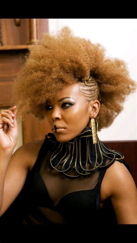 black women natural afro plated hair styles 1000 images about frohawk styles on pinterest black