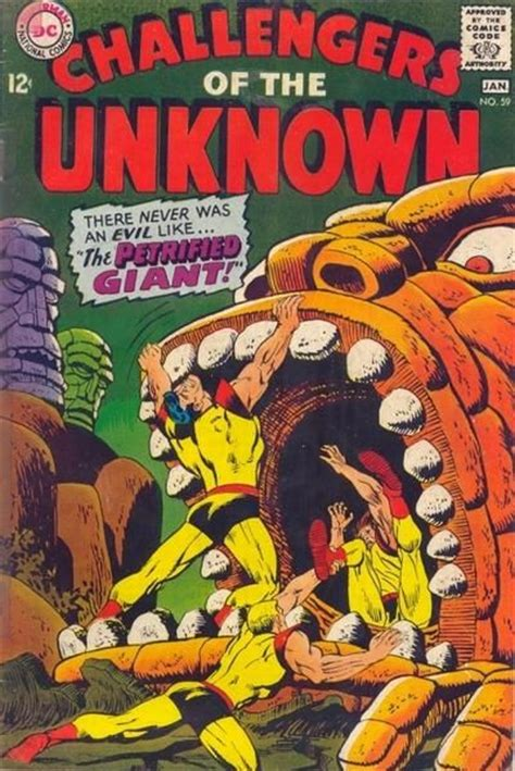 challengers of the unknown challengers of the unknown vol 1 59 on comic collector