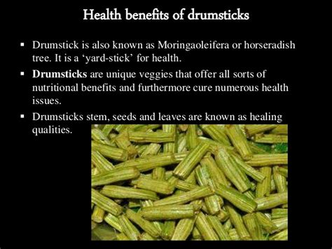Drumsticks For Health by Drumstick Nutritional Benefits Nutrition Ftempo
