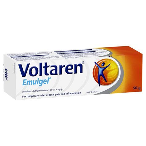 Voltaren Gel 50 G Original Buy Voltaren Emulgel 50g At Chemist Warehouse 174