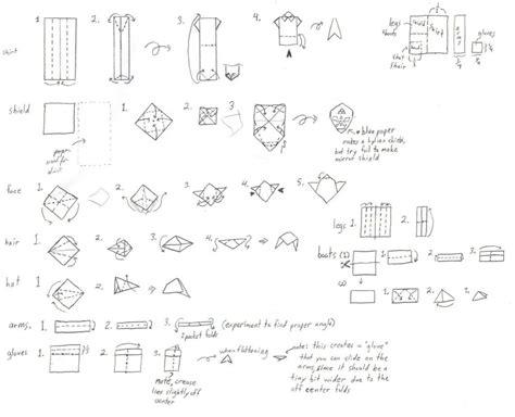 How To Make An Origami Obi Wan Kenobi - 75 how to make origami foldy wan kenobi how to make