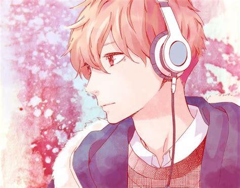 cool anime guy headphones anime boys pinterest cool