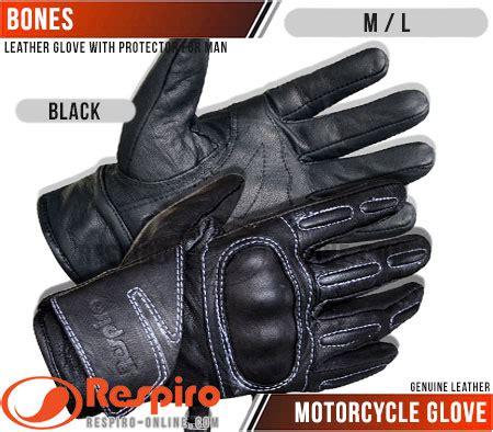 Sarung Tangan Kulit Respiro sarung tangan kulit respiro bones motorcycle glove