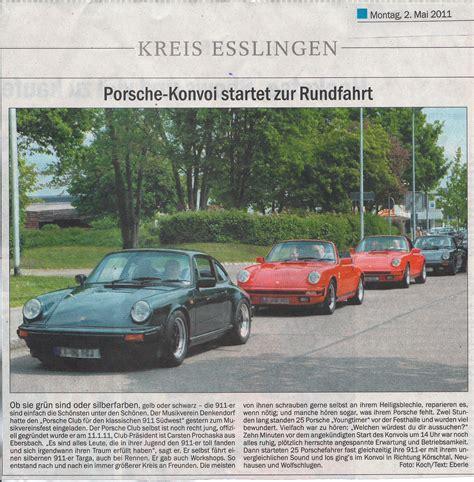 Porsche Böblingen wir in der presse 220 ber uns porsche club f 252 r den