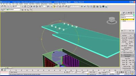 Ceiling Max Parts - architecture tutorial on 3ds max ceiling part 6