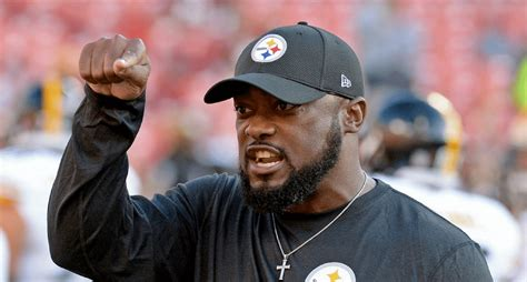 pittsburgh steelers coach trips player pittsburgh steelers coach and a player voice their