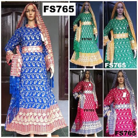 Dress Gamis Sari Fs 799 model baju sari india terbaru fika shop