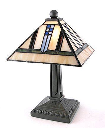 small tiffany style accent ls mission arts and crafts tiffany style stained glass mini