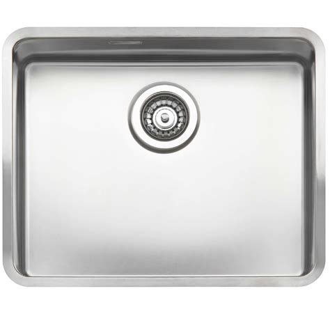 Stainless Steel Kitchen Sinks Uk Kitchen Sinks Taps Reginox Ohio 50 X 40 Stainless Steel Sink