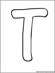 Letter T Template Preschool by T Coloring Pages Coloring Home