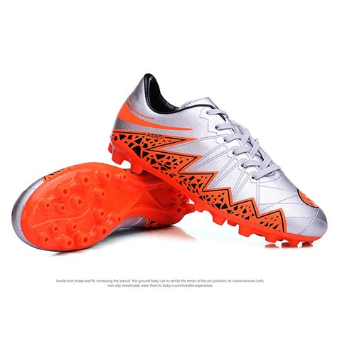 outdoor football shoes 4 colors new mens fg outdoor soccer shoes