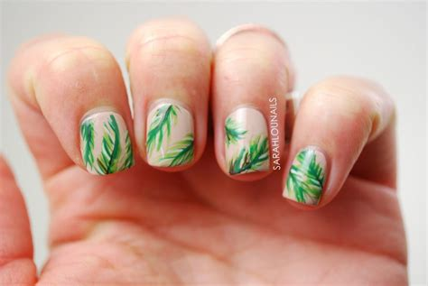 Palm Tree Designs For Nails