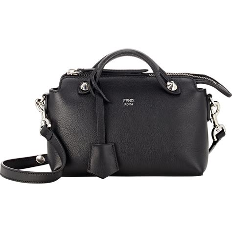Best Seller Fendi By The Way Boston fendi by the way mini satchel in black lyst