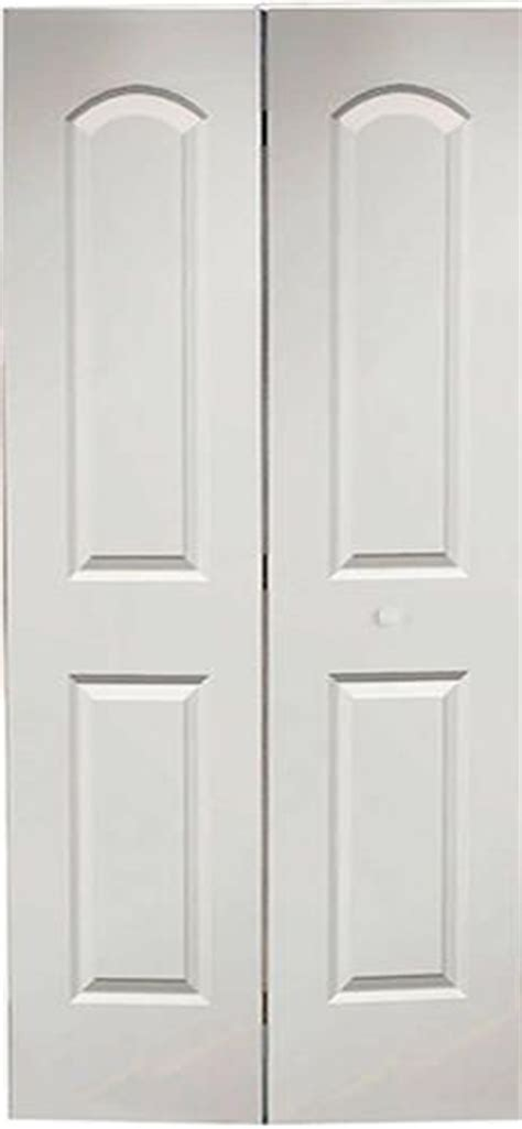 Bifold Closet Doors Menards 6 Pnl Primed Woodgrain Colonist 2 Leaf Bi Fold Door 30