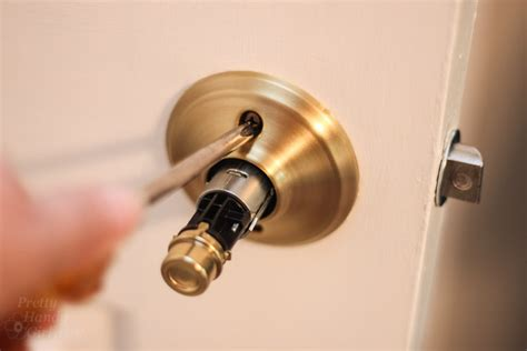 Change Door Knob by How To Replace Door Knobs And Deadbolts Pretty Handy