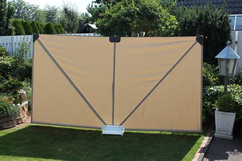 sichtschutz garten mobil leco mobiler sichtschutz natur ma 223 e 300 cm x 37 real