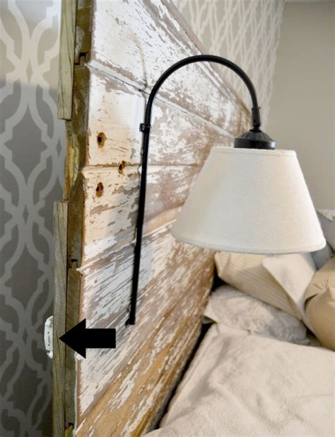 Diy Wall Sconce Light Comfy Diy Headboard Sconces To Make Shelterness