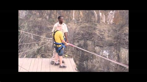zambezi swing zambezi river gorge swing victoria falls zimbabwe youtube
